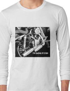 Anatomy Of A Ride Long Sleeve T-Shirt