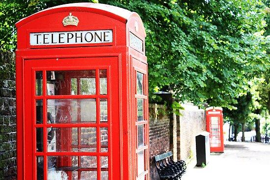 North London Phone Box by Alison Simpson