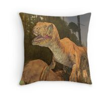 Dangerous Neighborhood Throw Pillow