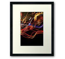 Crazy City Framed Print