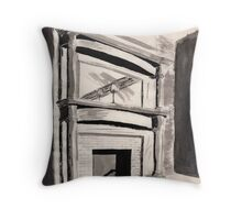 Historic Hearth Throw Pillow