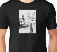 Girl In Front Of The Charminar, Hyderabad, India Unisex T-Shirt