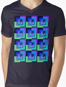 cold squares Mens V-Neck T-Shirt