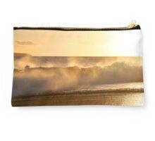 Makena's Golden Wave Clutch Studio Pouch