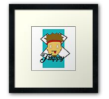 Trxppy Reality Dude Framed Print