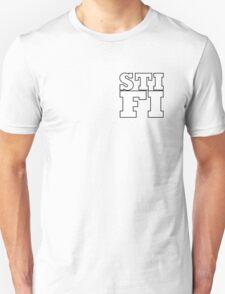 Sticky Fingers White Logo STIFI Unisex T-Shirt