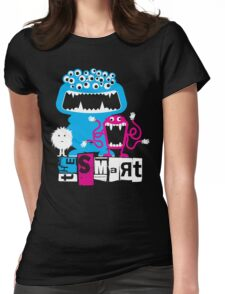 monster tee Womens Fitted T-Shirt