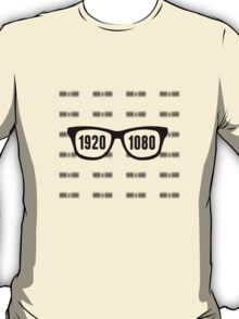Glasses = HD T-Shirt