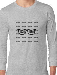 Glasses = HD Long Sleeve T-Shirt