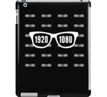 Glasses = HD white iPad Case/Skin