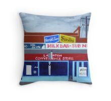 Laverton Convenience Store Throw Pillow