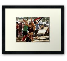 Workshops @ Rainbow Serpent Festival 2009 Framed Print