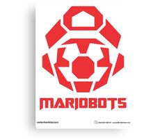Mariobots! (RED) Canvas Print