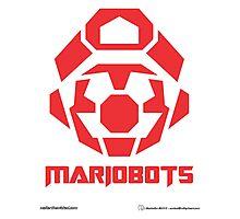 Mariobots! (RED) Photographic Print