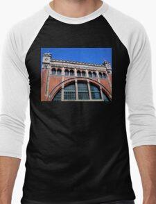 Power Station Façade, Malmo, Sweden Men's Baseball ¾ T-Shirt
