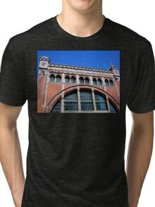 Power Station Façade, Malmo, Sweden Tri-blend T-Shirt