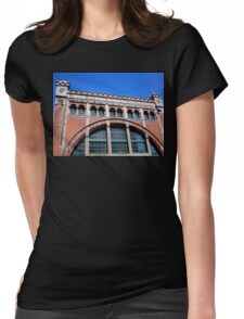 Power Station Façade, Malmo, Sweden Womens Fitted T-Shirt