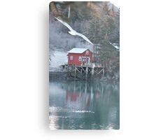 Halibut Cove, Alaska Metal Print