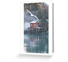 Halibut Cove, Alaska Greeting Card