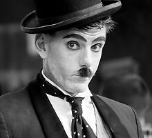 A Portrait of Charlie Chaplin by kael