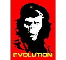 Planet of the apes Evolution Photographic Print