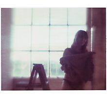 Model, Dressing Photographic Print