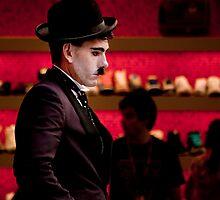 Charlie Chaplin _ Colour by kael