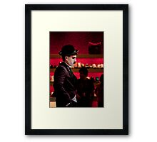 Charlie Chaplin _ Colour Framed Print
