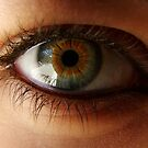 Eye Close-up 1 by Sharif Ajez