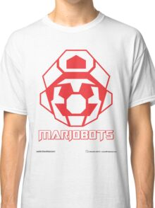 Mariobots! (Red Outline on White) Classic T-Shirt