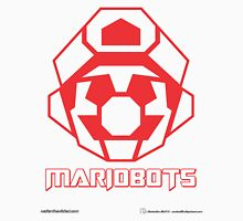 Mariobots! (Red Outline on White) Unisex T-Shirt