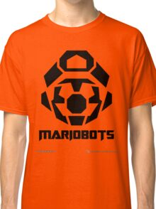 Mariobots! [Black (on red)] Classic T-Shirt