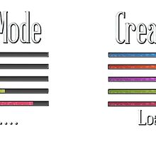 Creative Mode Loading Artist Crafters Design by HavenDesign