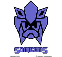 Sonicons! (FLAT) Photographic Print
