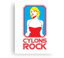Cylons rock Canvas Print