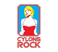 Cylons rock Photographic Print