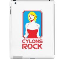 Cylons rock iPad Case/Skin