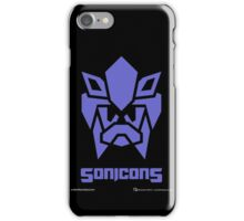 Sonicons! (BLUE) iPhone Case/Skin