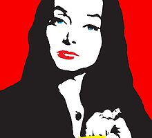 Morticia addams by monsterplanet