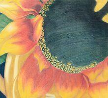 Prismacolor Flower by KaylynneM