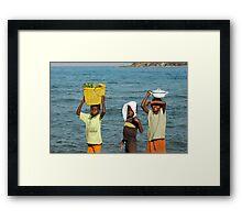 Malawi Boys Framed Print