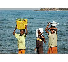 Malawi Boys Photographic Print