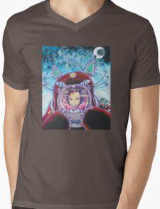asteroid mines Mens V-Neck T-Shirt