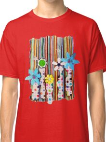 Cut n Paste Flowers Classic T-Shirt