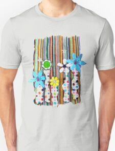 Cut n Paste Flowers T-Shirt