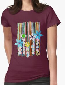 Cut n Paste Flowers T-Shirt