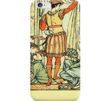 The Sleeping Beauty Picture Book Plate - He reached the guard, the court, the hall iPhone Case/Skin