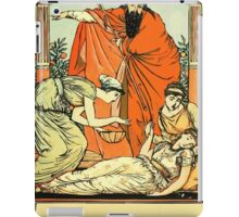 The Sleeping Beauty Picture Book Plate - That They The Child Might Bless iPad Case/Skin