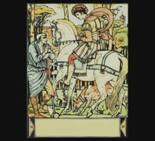The Sleeping Beauty Picture Book Plate - An Aged Peasant Told of an Enchanted Palace by wetdryvac