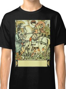 The Sleeping Beauty Picture Book Plate - An Aged Peasant Told of an Enchanted Palace Classic T-Shirt